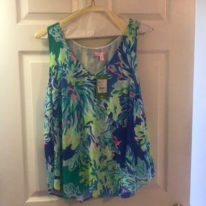 Lilly Pulitzer Florie silk top